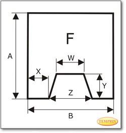 Podstawa, Brązowe szkło żądanego formatu S6