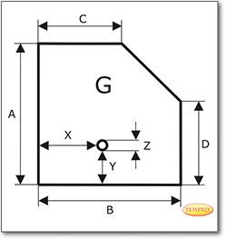 Podstawa, Przezroczyste szkło żądanego formatu S3