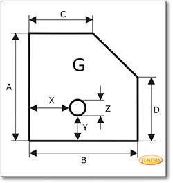 Podstawa, Przezroczyste szkło żądanego formatu S4