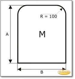 Podstawa, Przezroczyste szkło żądanego formatu S1