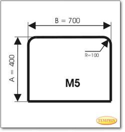 Podstawa, Stal szara, Forma: M5