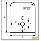 Podstawa, Brązowe szkło żądanego formatu S4
