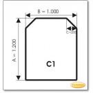 Podstawa, Brązowe szkło, Forma: C1