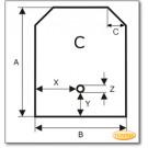 Podstawa, Brązowe szkło żądanego formatu S3