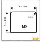 Podstawa, Przezroczyste szkło, Forma: M5