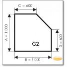 Podstawa, Brązowe szkło, Forma: G2